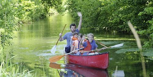 Ausflug mit dem Kanu